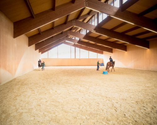 Horse Riding Stable near Siena, in Tuscany, Italy - Fattoria Tègoni