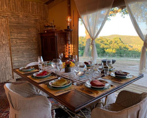 Farm Tastings and Lunches near Siena, in Tuscany, Italy - Fattoria Tègoni